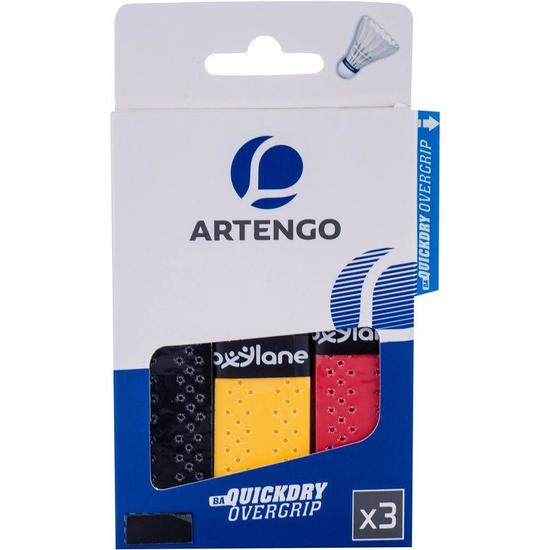 Overgrip Badminton Quick Dry Overgrip 3 stuks - 795200