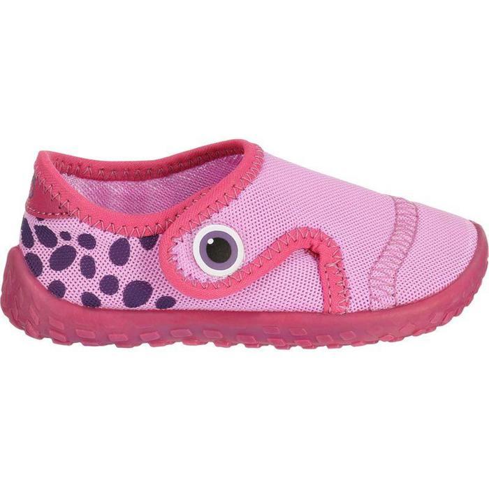 Chaussures aquatiques Aquashoes 100 bébé roses