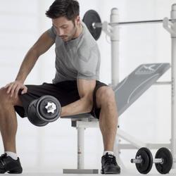 Halterset voor krachttraining 30 kg - 795235
