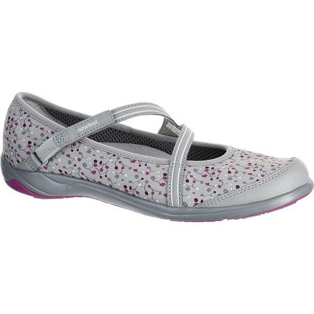 sports shoes new lifestyle later Ballerines marche active femme Baoma gris / violet