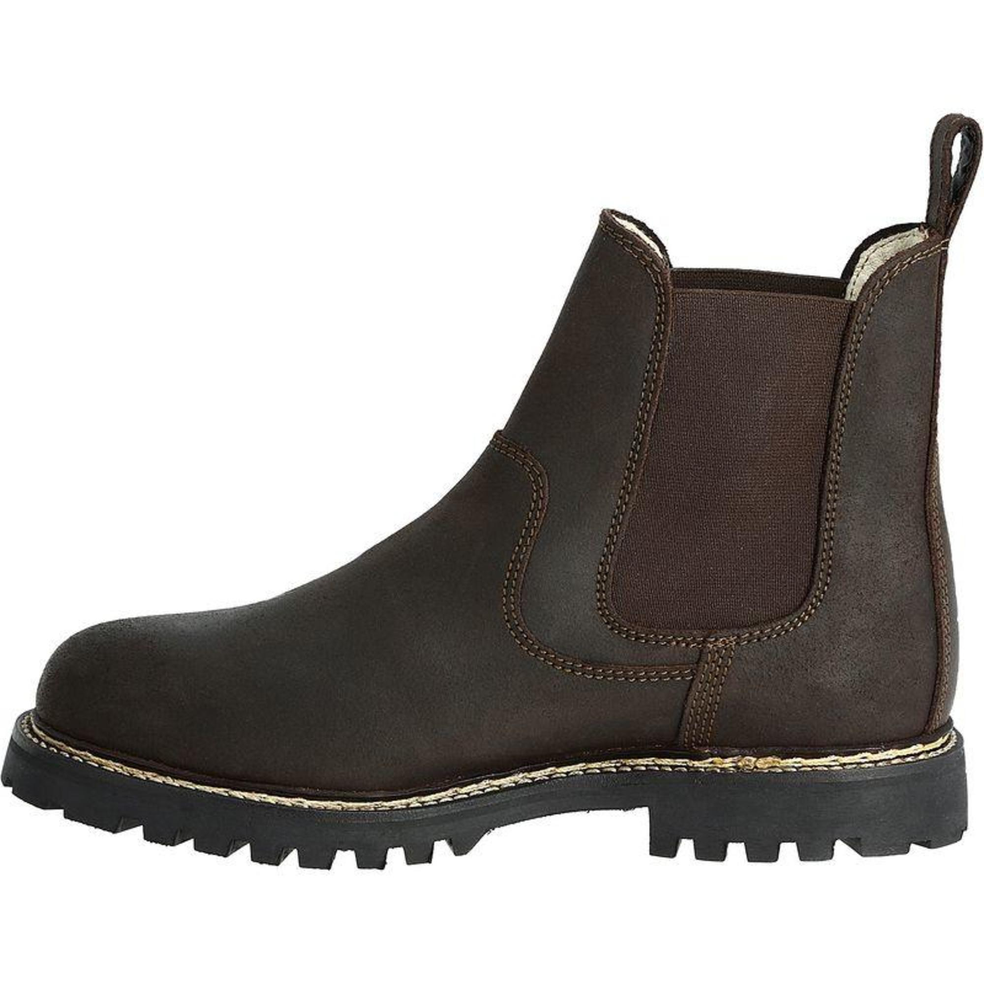 Fouganza 900 Adult Horse Riding Leather Boots Jodhpur Brown All Sizes Waterproof