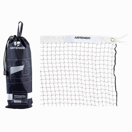 Competition Badminton Net - Brown