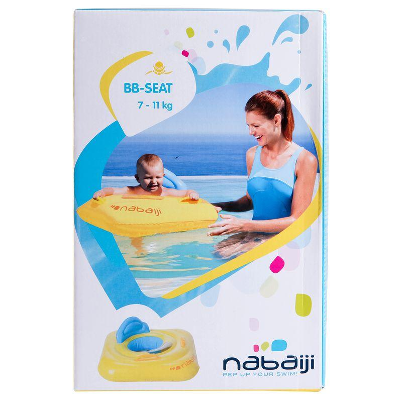 Swimming baby seat - yellow