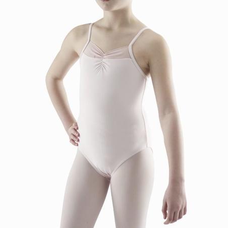 Girls' Ballet Leotard - Light Pink