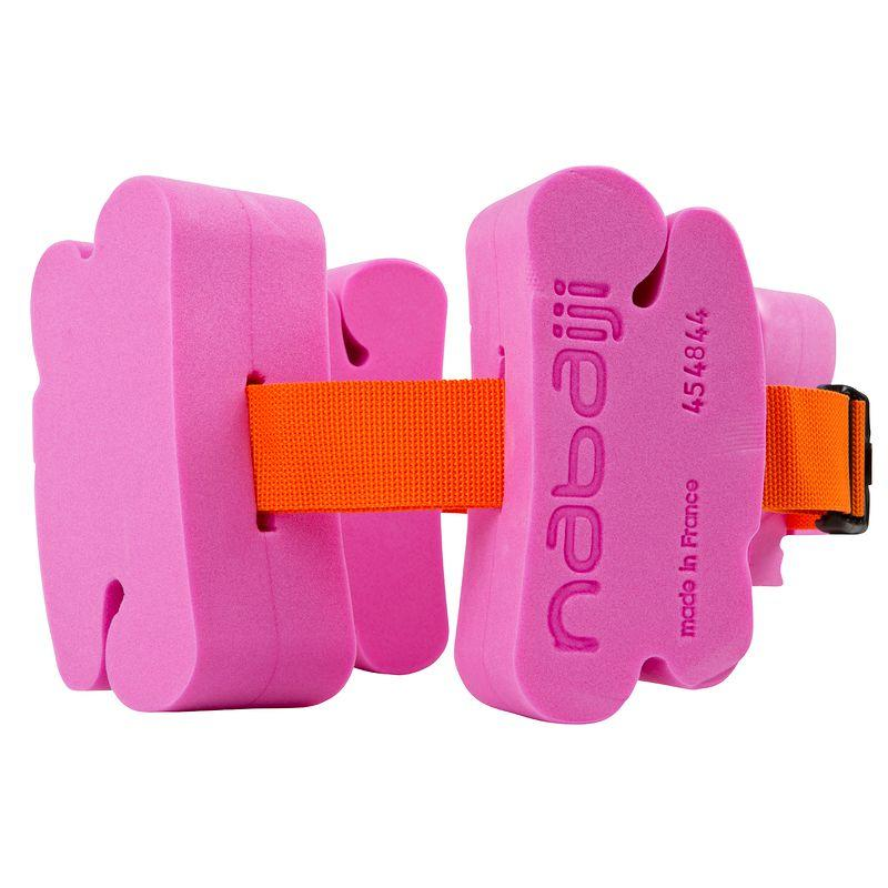 Children'S Swimming Belt With Foam Floats,15-60 Kg - Pink