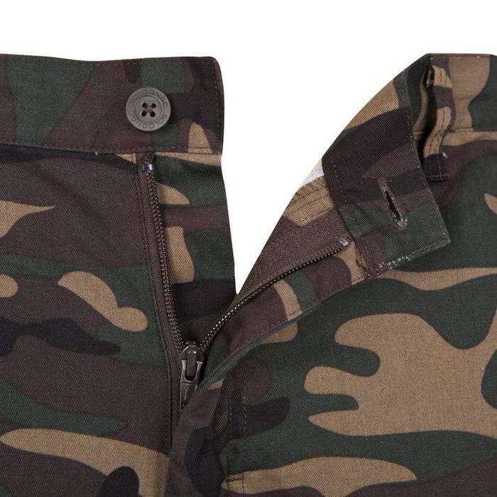 Pantalon chasse steppe 300 woodland vert
