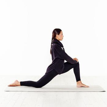 Sweat polaire relaxation yoga femme - 796023
