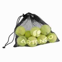 Ballennet voor 10 tennisballen zwart
