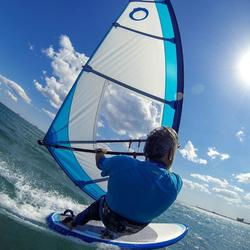 Windsurfboard 170l mit Schwert und Footstraps