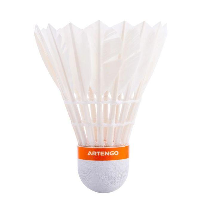 Badmintonshuttles BSC880 wit doos van 50 (snelheid 77)