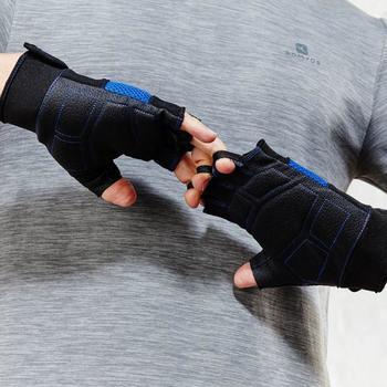Fitnesshandschoen met klittenbandsluiting - 796861