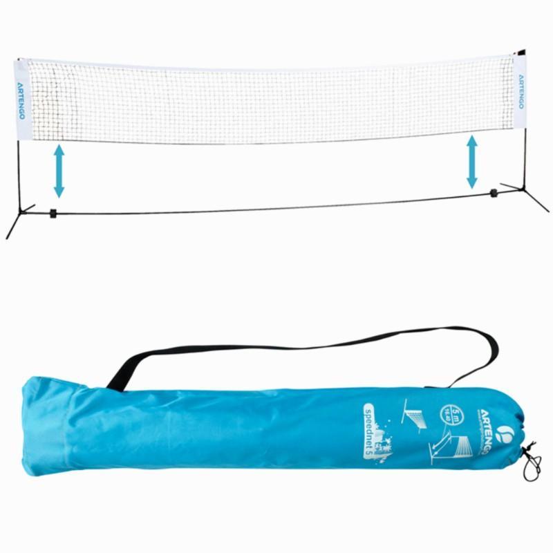 Artengo Badmintonnet Speednet 500 blauw