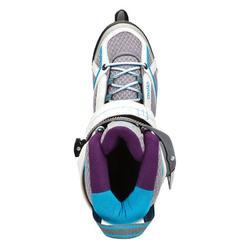 Skeelers Fitness Fit 5 voor dames grijs/blauw - 797244