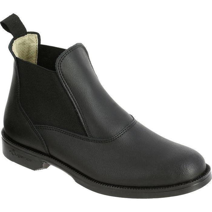 0f4264d77d39f Fouganza Boots équitation adulte et enfant CLASSIC cuir