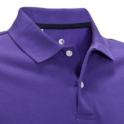 POLO GOLF HOMME INTAC'TEE Violet