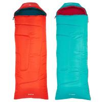 FORCLAZ CHILD 10° LIGHT Hiking Sleeping Bag Green or Red