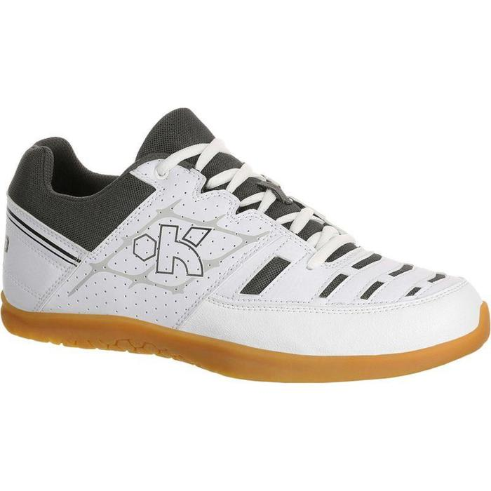 Chaussures de volley-ball adulte V100 blanches - 797772
