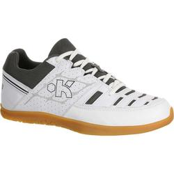 Chaussures de volley-ball adulte V100 blanches