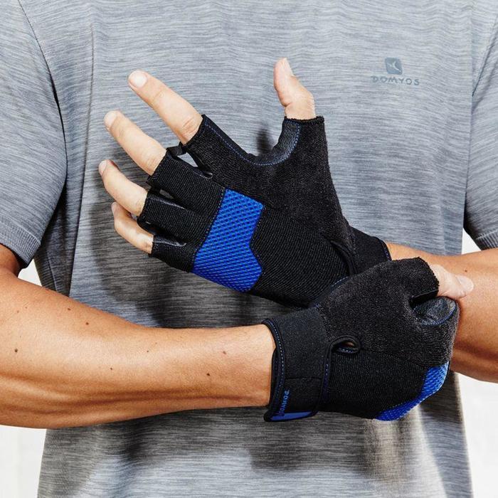 Fitnesshandschoen met klittenbandsluiting - 797852