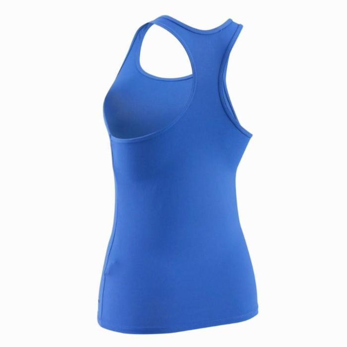 Damestop My Top voor cardiofitness blauw