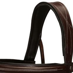 Hoofdstel + teugels Tinckle ruitersport bruin - pony en paard - 798501