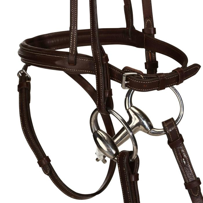 Filet + rênes équitation RECALL - poney et cheval - 798606