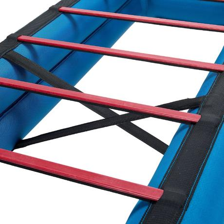 sommier gonflable lit de camp camp bed air 70 bleu quechua. Black Bedroom Furniture Sets. Home Design Ideas