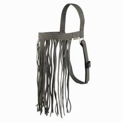 Fliegenschutz-Stirnband, Fliegenfranzen für Pferde auf der Weide