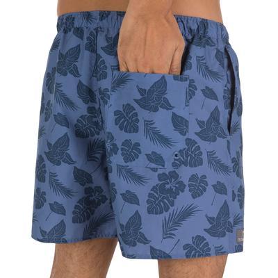 Pantaloneta corta hombre Hendaya Leaf gris