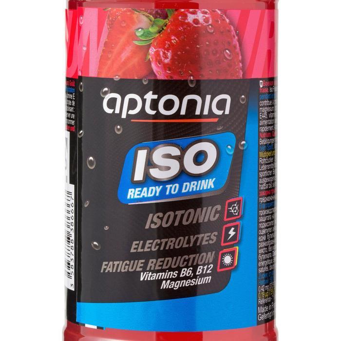 Boisson isotonique prête à boire ISO fraise 500ml