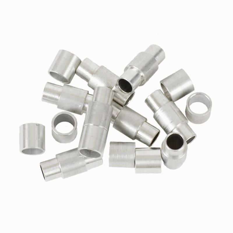 Pack separadores aluminio patines 8/6 mm