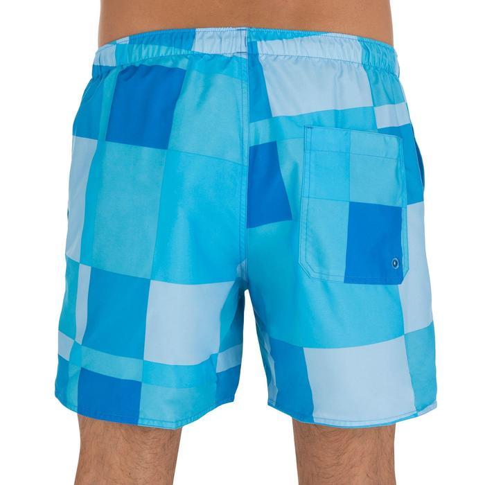 Hendaia men's short swimming shorts - Cube green - 798964