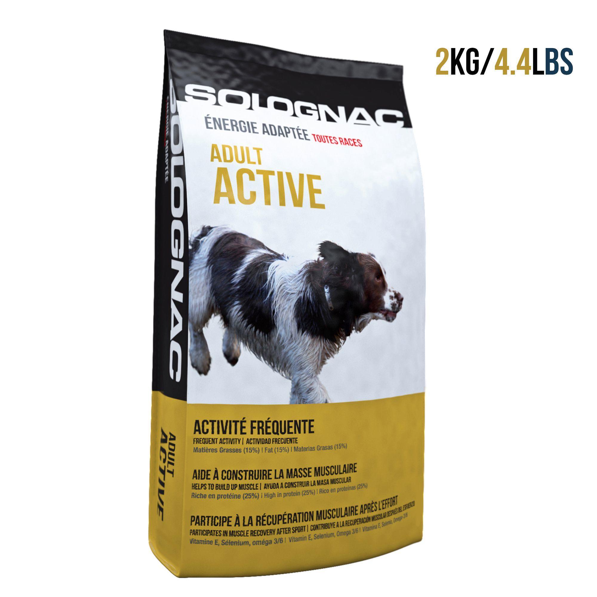Solognac Hondenvoer Adult Active 12 kg