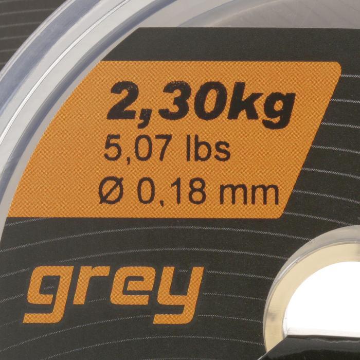 FIL DE PÊCHE LINE ABRASION GREY 250 M - 799298