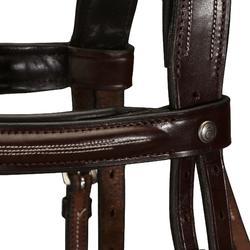 Hoofdstel + teugels Tinckle ruitersport bruin - pony en paard - 799798
