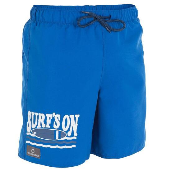 Korte boardshort voor jongens Joko Beach - 800007