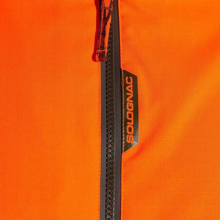 Veste chasse imperméable SUPERTRACK 100 FLUO - 800013