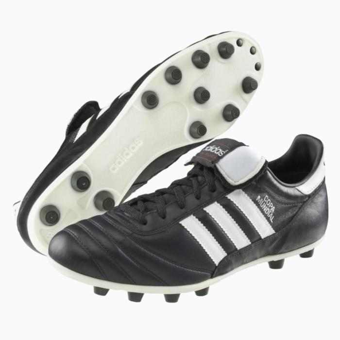 Chaussure football adulte Copa Mundial FG noire blanche - 800047