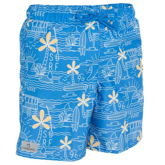 Korte boardshort voor jongens Joko Beach - 800073