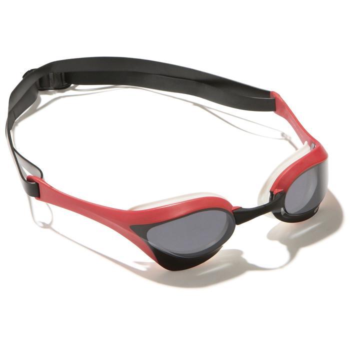Schwimmbrille Cobra Ultra Erwachsene weiß/rot