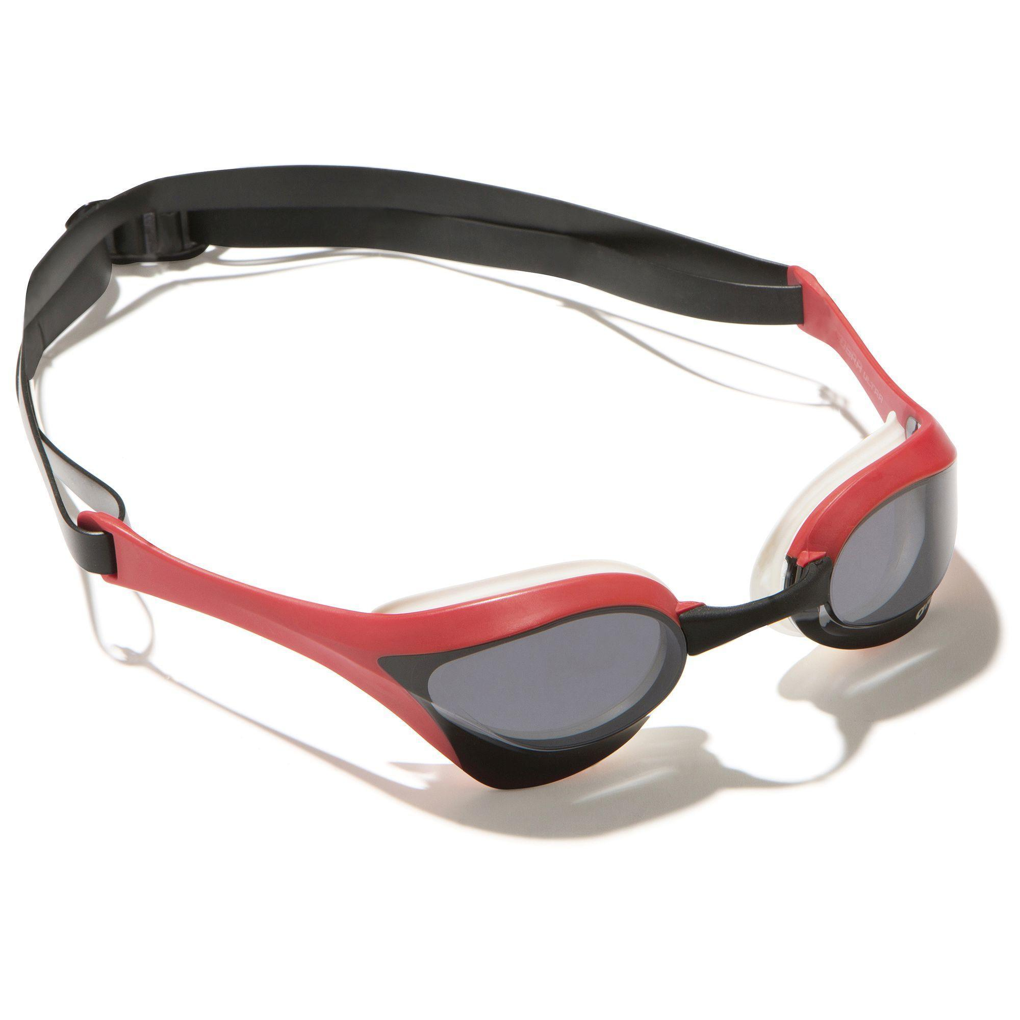 Arena Zwembrilletje Cobra Ultra wit rood kopen
