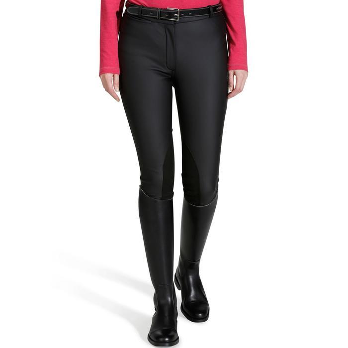 Pantalon imperméable chaud et respirant équitation femme KIPWARM - 800675