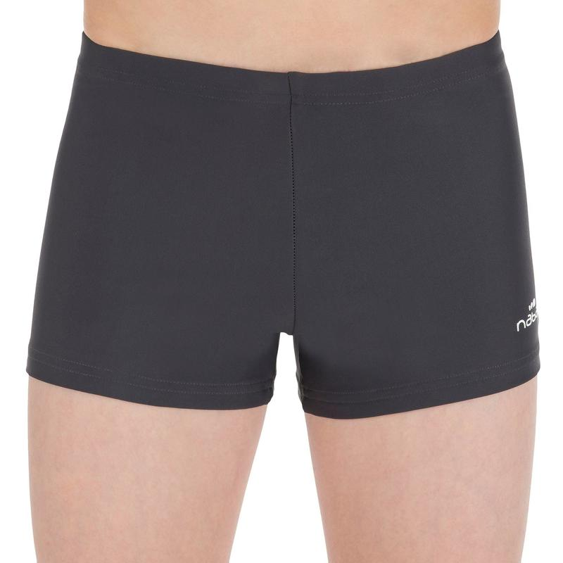 Tony Shorts Boys' Swimming Costume - Grey