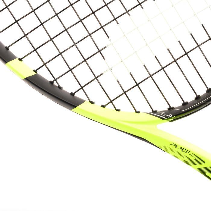 Tennisracket voor volwassenen Pure Aero zwart/geel - 801339