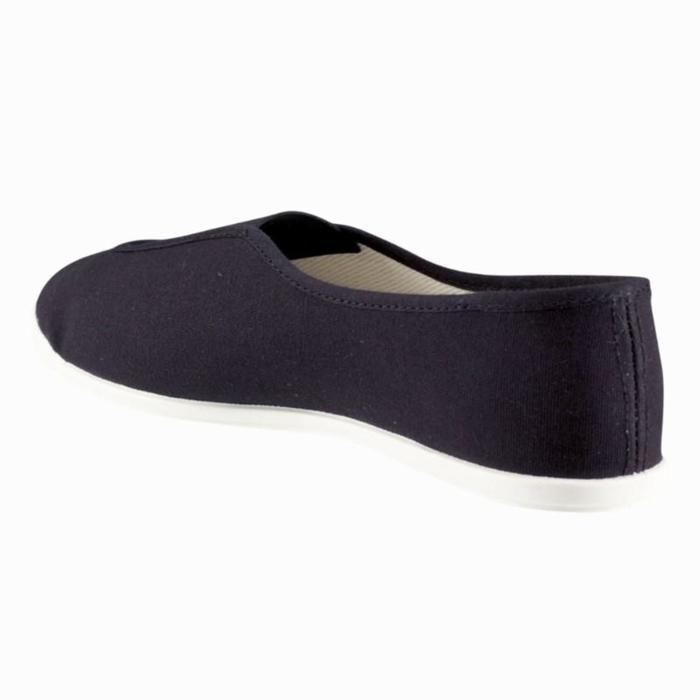 Zapatillas de gimnasia en el colegio niños negro Rythm 300
