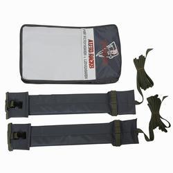 Sistema flexível de transporte porta-bagagens para 1 prancha de surf