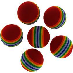 Golfballen Eva Stripes x6