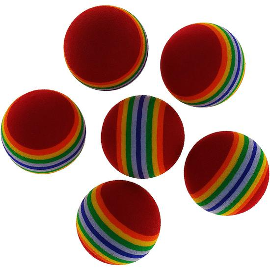 Golfballen Eva Stripes x6 - 801905