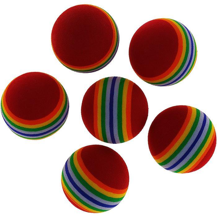 Balle de Golf Mousse X6 - 801905