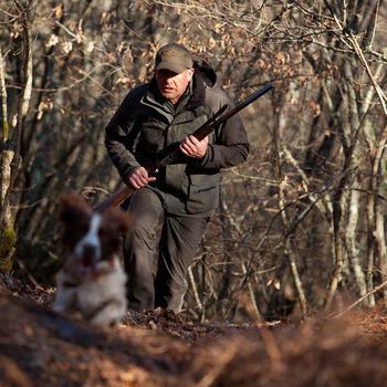 Pantalón de caza Inverness 500 impermeable verde